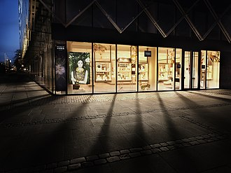 House of Amber - The flagship store on Vesterbrogade in Copenhagen.