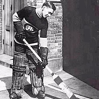 Georges Vézina - Georges Vézina with the Canadiens early in his career