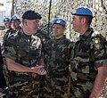 Vice ADM Mark Mellett, Chief of Staff Irish Defence Forces in Lebanon.jpg