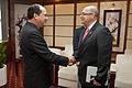 Vicecanciller Marco Albuja se reúne con Vicedirector del Grupo de Petróleo y Gas de Vietnam (8414214892).jpg