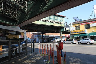 Victor A. Moore Bus Terminal - JacksonHeights.nyc on