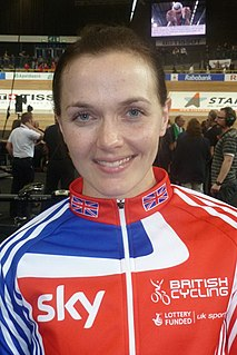 Victoria Pendleton British cyclist and jockey