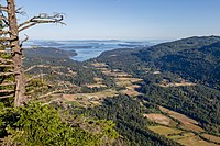 View from Baynes Peak, Saltspring Island, British Columbia, Canada 04.jpg