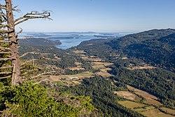 View from Baynes Peak, Saltspring Island, British Columbia, Canada 04.jpg