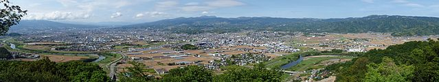 View from Mount Oarashi 20100518.jpg