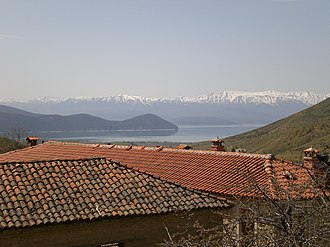 Agios Germanos - Image: View from Room in Ag Germanos