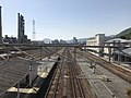 View from overpass of Itozaki Station (west).jpg