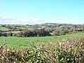 View northwestwards across farmland towards the Mariandyrys limestone outcrop - geograph.org.uk - 1544536.jpg