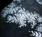 View of the Himalaya Mountain Range in the India-Nepal-Tibet border area.jpg