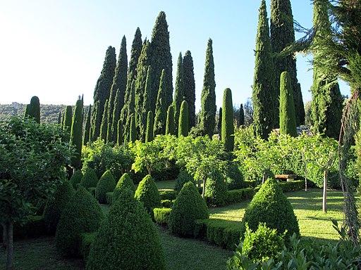 Villa Cetinale, giardino