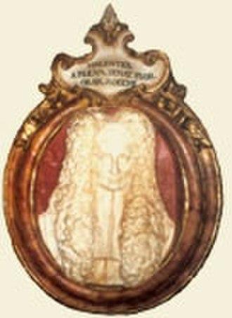 Vincenzo da Filicaja - Cameo of Vincenzo da Filicaja.