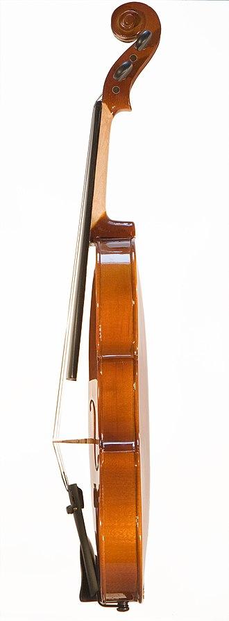 Gypsy style - Image: Violin right