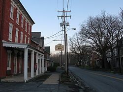 The Virginville Hotel on Pennsylvania Route 143 in Richmond Township