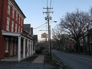 Richmond Township, Berks County, Pennsylvania - The Virginville Hotel on Pennsylvania Route 143 in Richmond Township