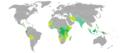 Visa requirements for Burundi citizens.png