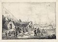 Vismarkt op het strand van Scheveningen, by Pieter Bout (1658-1719).jpg