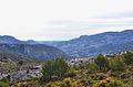 Vista de la vall de Guadalest des de la Serrella.JPG