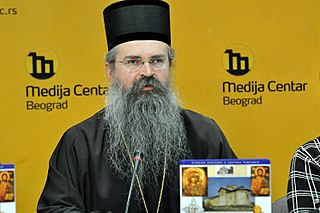 Teodosije Šibalić Serbian Bishop of Raška-Prizren