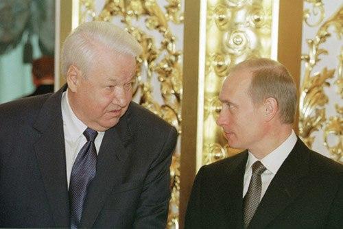 Vladimir Putin 12 June 2001-2