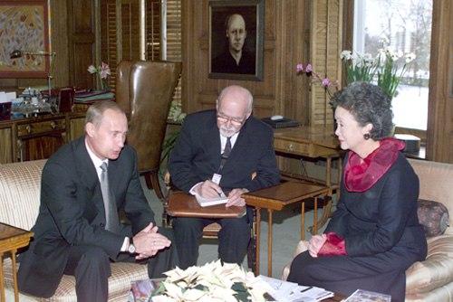 Vladimir Putin in Canada 18-19 December 2000-2