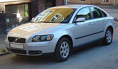 Volvo S40 II przed face liftingiem