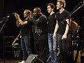 Vusa Mkhaya's Vocalism Project Austrian World Music Awards 2015 10.jpg