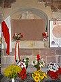 Wąchock Monastery – Commemoration of John Piwnik - 01.JPG