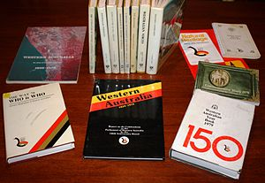 WAY 79 - Some of the books published as part of the celebrations.