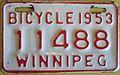 WINNIPEG MANITOBA 1953 -BICYCLE LICENSE - Flickr - woody1778a.jpg