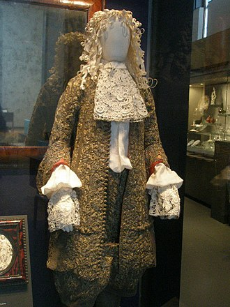 James II of England - Wedding suit of James II, 1673