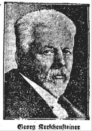 Kerschensteiner, Georg (1854-1932)