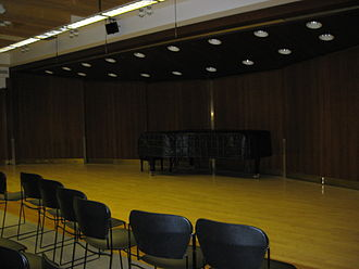 Juilliard School - Morse Hall, one of the performing spaces inside the Juilliard School