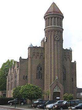 Onze lieve vrouw onbevlekt ontvangenkerk waalwijk wikipedia - Expressionistische architectuur ...