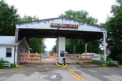 New Harmony Toll Bridge - Wikipedia