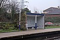 Waiting shelter, Ince and Elton railway station (geograph 3824359).jpg