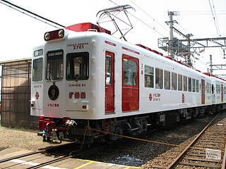 Kishigawa Line railway line in Wakayama prefecture, Japan