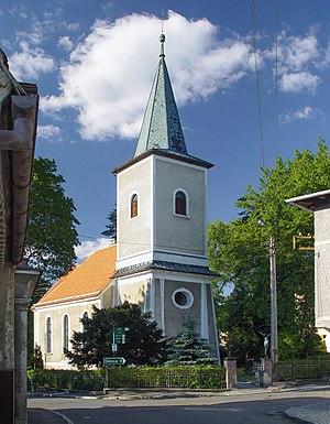 Walim, Lower Silesian Voivodeship - Saint Barbara Church