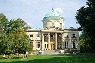 Królikarnia - Main façade.
