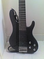 Washburn XB600, a six string bass.