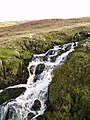 Waterfall ,Sleddale Beck - geograph.org.uk - 294184.jpg