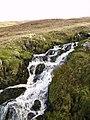 Waterfall ,Sleddale Beck - geograph.org.uk - 294184.jpg