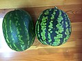 Watermelon grown in Buryatia, Siberia.jpg