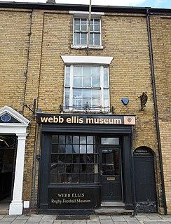 Webb Ellis Rugby Football Museum