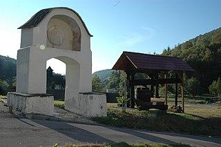 Bildstock, sog. Weingartentor
