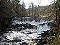 Weir on River Darwen, Lancashire - geograph.org.uk - 389351.jpg