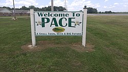 Pace, Mississippi.