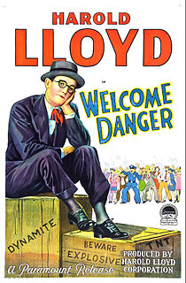 <i>Welcome Danger</i> 1929 film by Clyde Bruckman