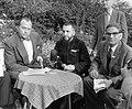 Wereldunie Conferentie Vredesorganisatie op Pieterberg Abbe Pierre, Bestanddeelnr 907-2973.jpg