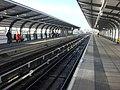 West Silvertown DLR station,platform1 - geograph.org.uk - 1126477.jpg