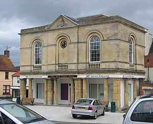 Westbury, Wiltshire - Image: Westbury old town hall